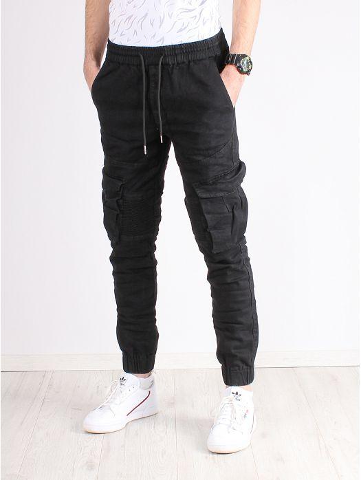 Keper hlače Max crne