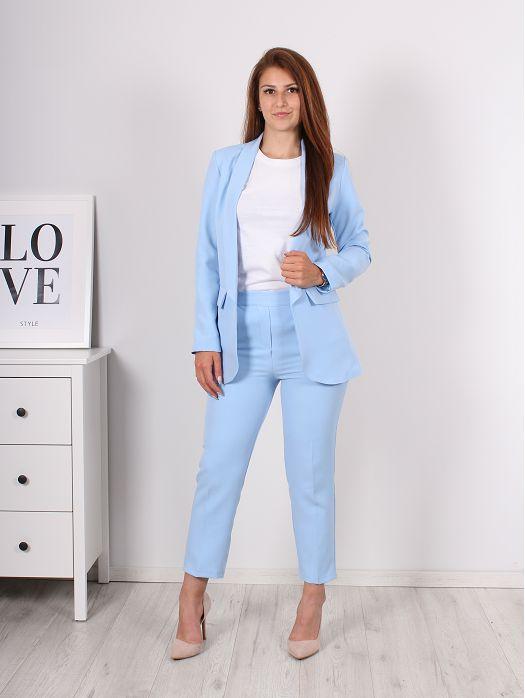 Komplet Sweet sako i hlače plavi