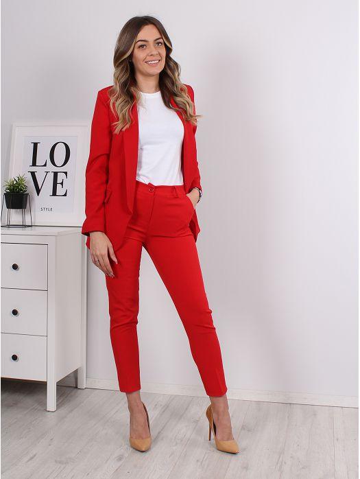 Komplet Zaz sako i hlače crveni