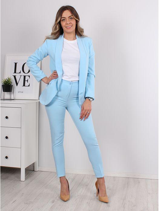 Komplet Zaz sako i hlače plavi