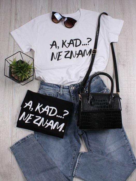 Majica A kada ne znam