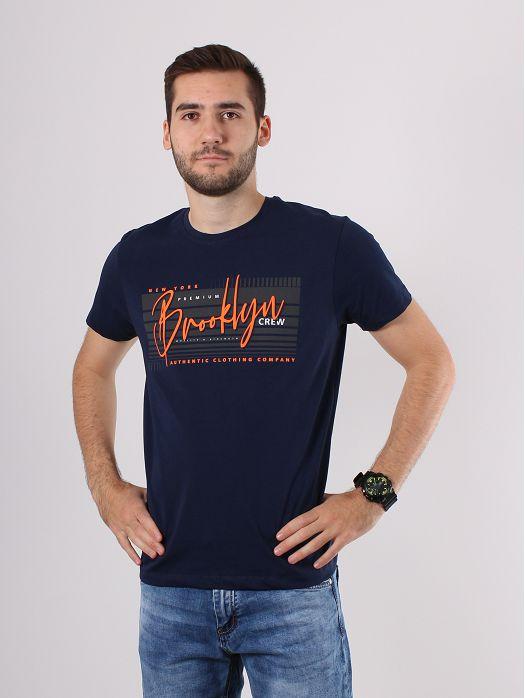 Majica Brooklyn plava