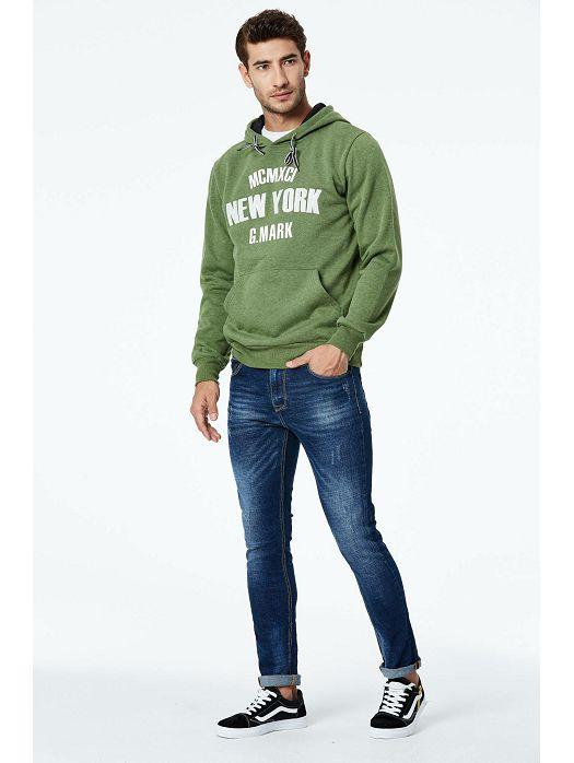 Majica New York Zelena
