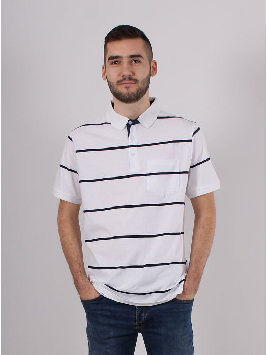 Majica Pruge bijela
