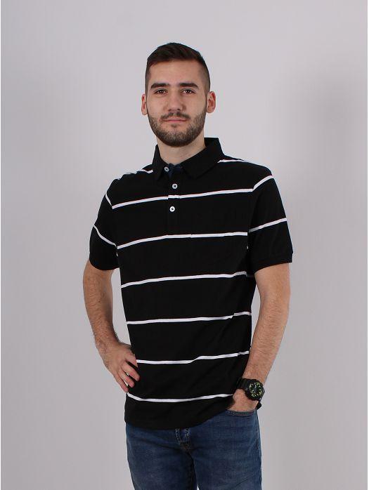 Majica Pruge crna
