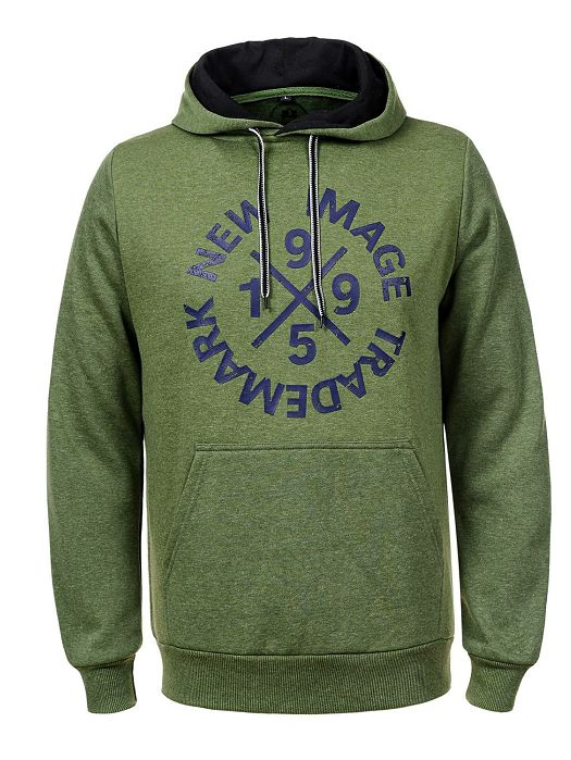 Majica s kapuljačom zelena