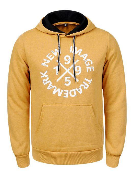 Majica s kapuljačom žuta