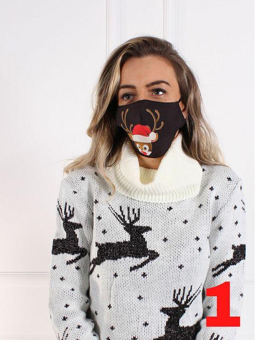 Maskica Božićni uzorak