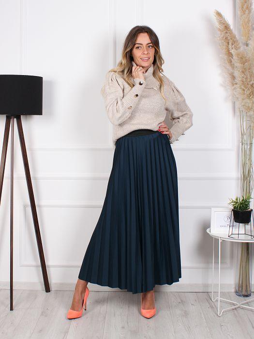 Plisirana suknja Jules