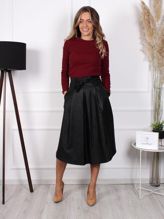 Suknja Star crna