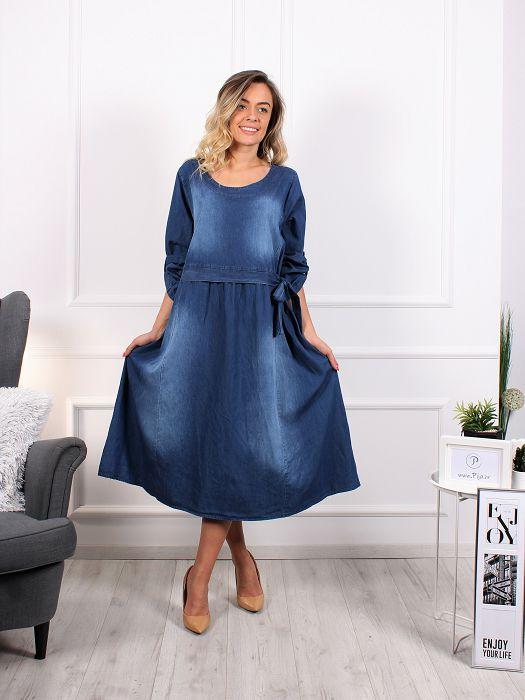 Traper haljina Mašna Oversized
