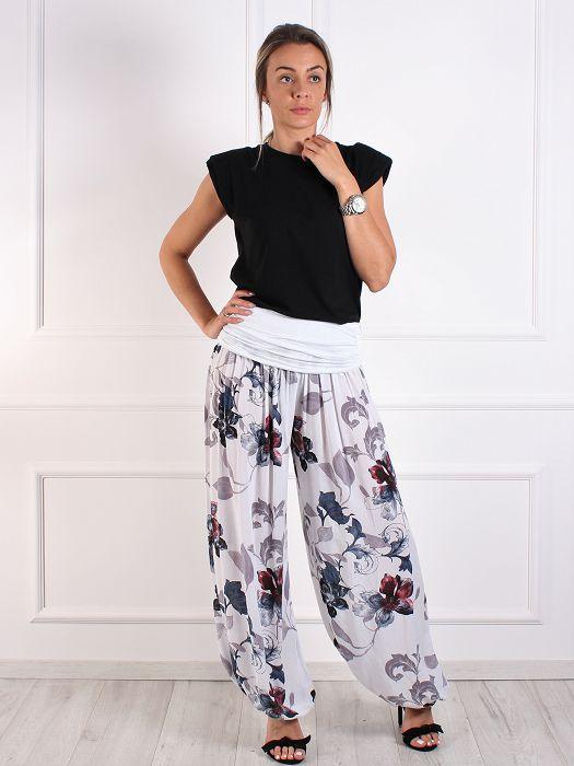 Ženske hlače cvjetne