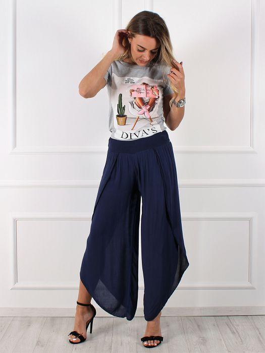Ženske hlače široke