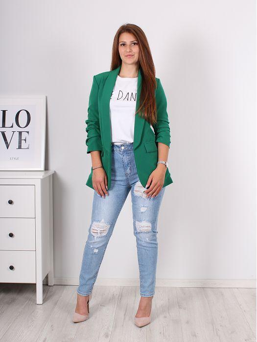 Ženski sako Zeleni